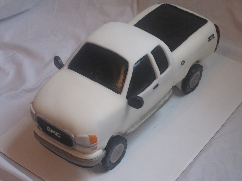 Truck Cake Sweet 16 Cakecentral Com