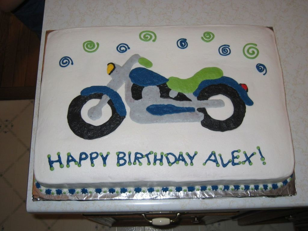 Motorcycle Cake 05 CakeCentralcom