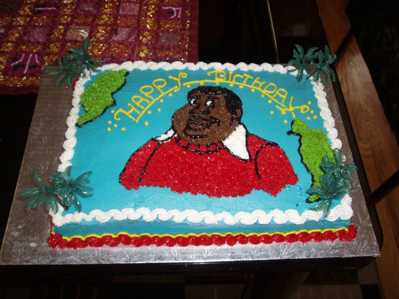 Strange Fat Albert Cake Cakecentral Com Funny Birthday Cards Online Necthendildamsfinfo