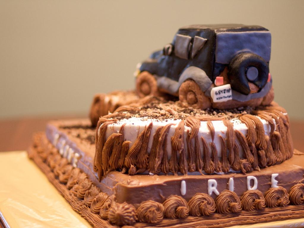 Jeep Wrangler mudder For 40Th Birthday CakeCentralcom