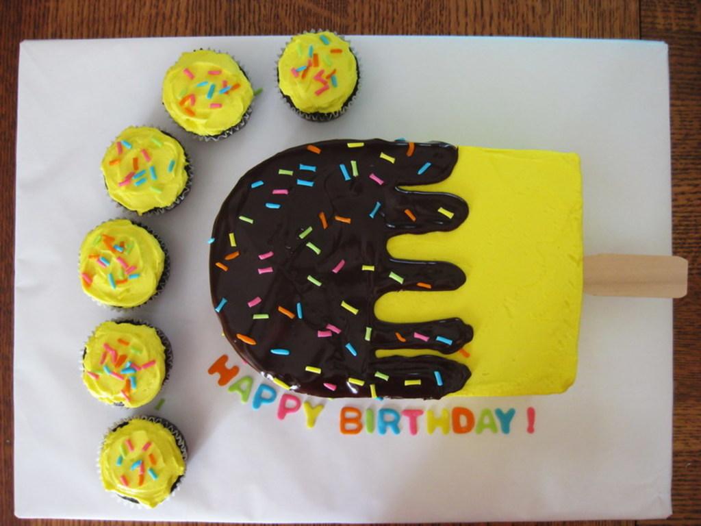 Admirable Clems Birthday Ice Cream Bar Cake Cakecentral Com Birthday Cards Printable Benkemecafe Filternl