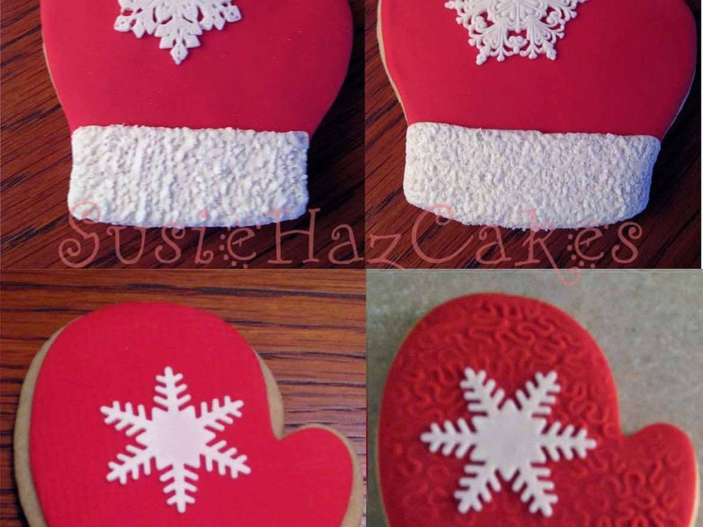 Mitten christmas cookie gifts cakecentral