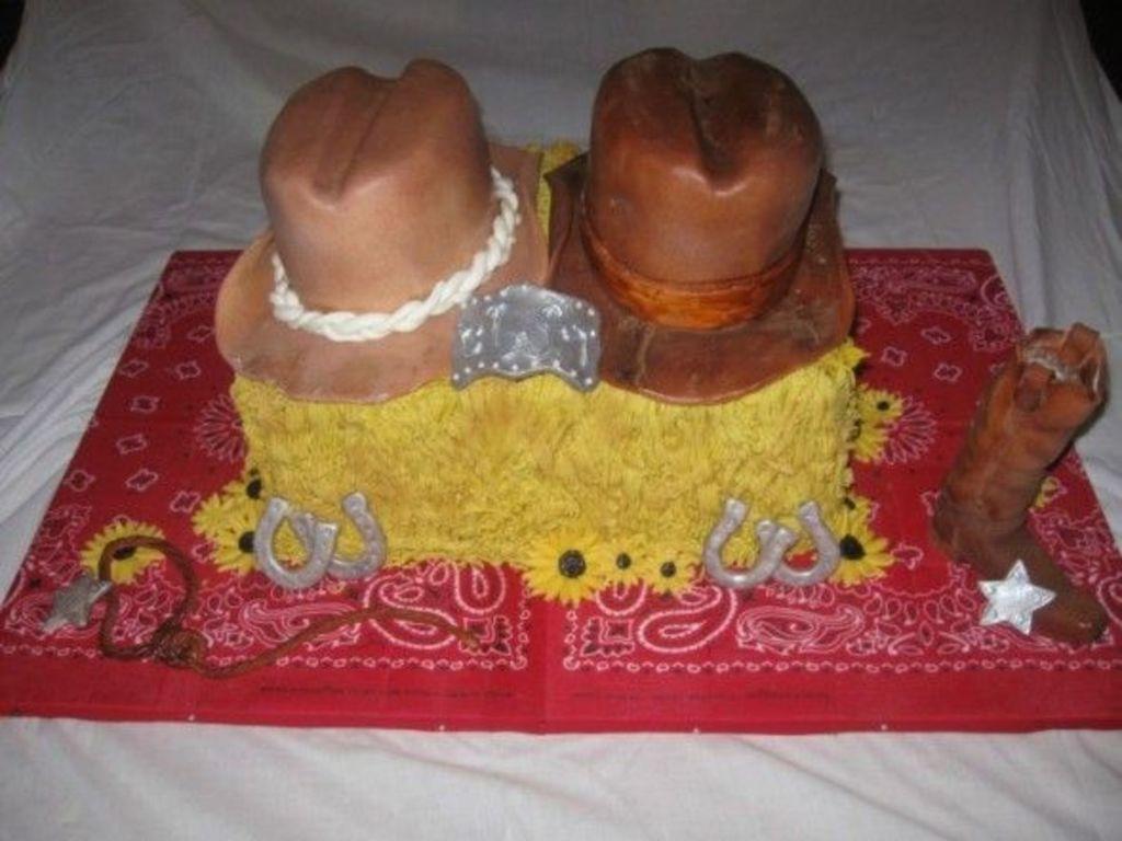 western bridal shower cakecentralcom