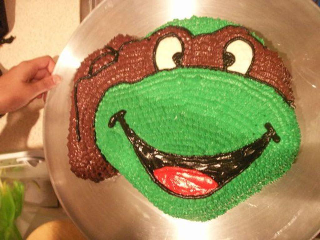 Cool Teenage Mutant Ninja Turtle Donatello Cakecentral Com Personalised Birthday Cards Petedlily Jamesorg