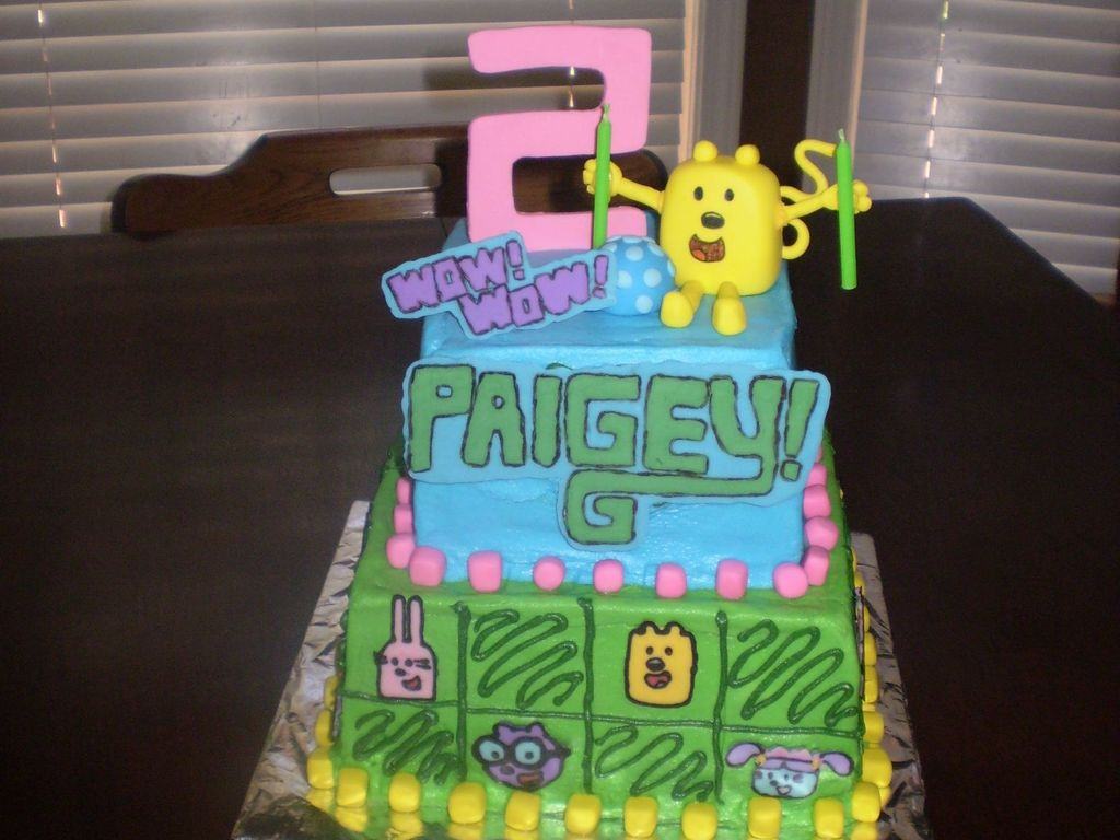 Miraculous Wow Wow Wubbzy Birthday Cake For 2 Year Old Girl Cakecentral Com Funny Birthday Cards Online Eattedamsfinfo