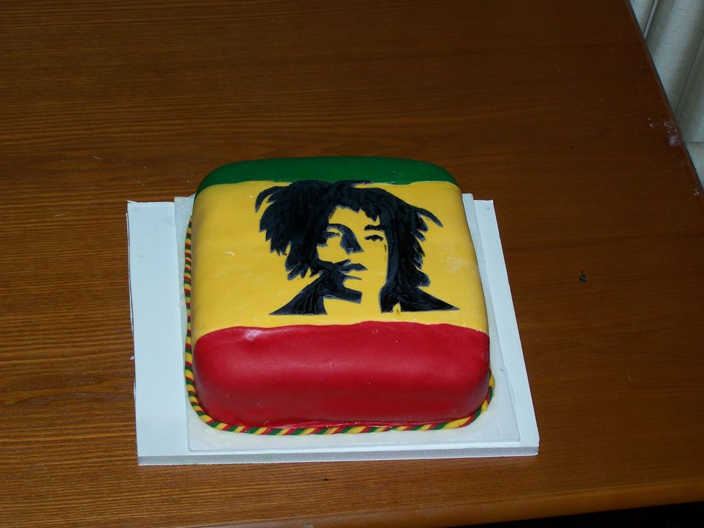 Stupendous Bob Marley Birthday Cake Cakecentral Com Funny Birthday Cards Online Elaedamsfinfo