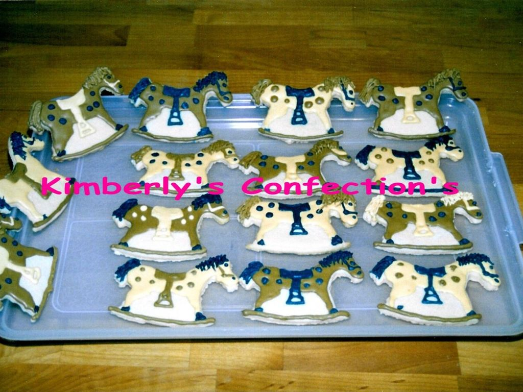 Rocking Horse Cookies Cakecentral Com