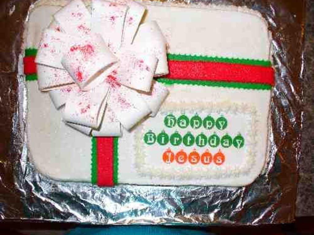 Pleasant Happy Birthday Jesus Cake Cakecentral Com Birthday Cards Printable Benkemecafe Filternl
