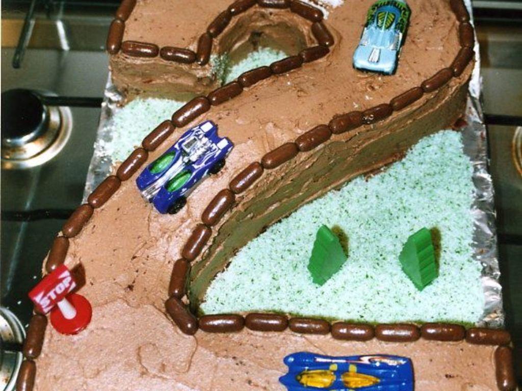 Race Car Track No 2 Cakecentral Com