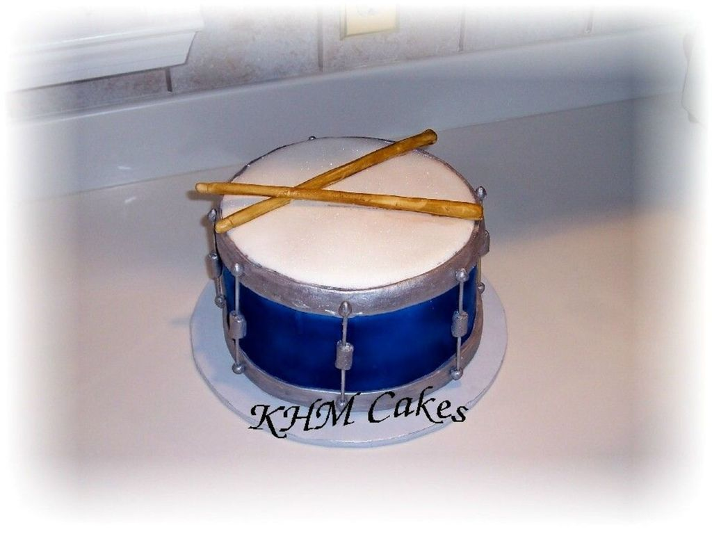 Remarkable Snare Drum Birthday Cake Cakecentral Com Funny Birthday Cards Online Aboleapandamsfinfo