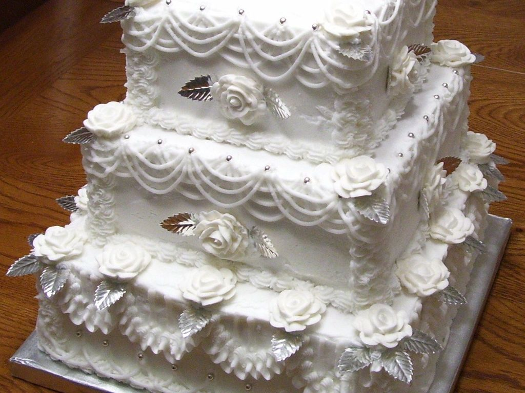 Old Fashioned Wedding Cake Cakecentral Com
