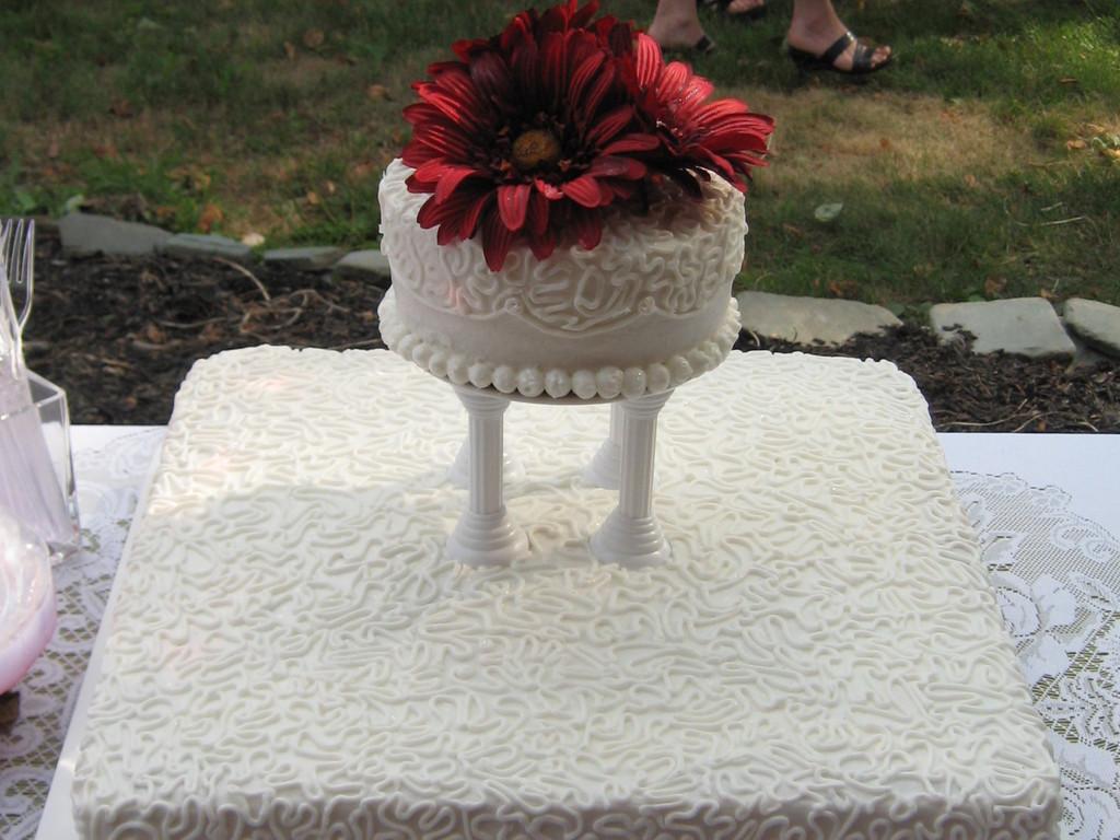 Informal Wedding Reception - CakeCentral.com