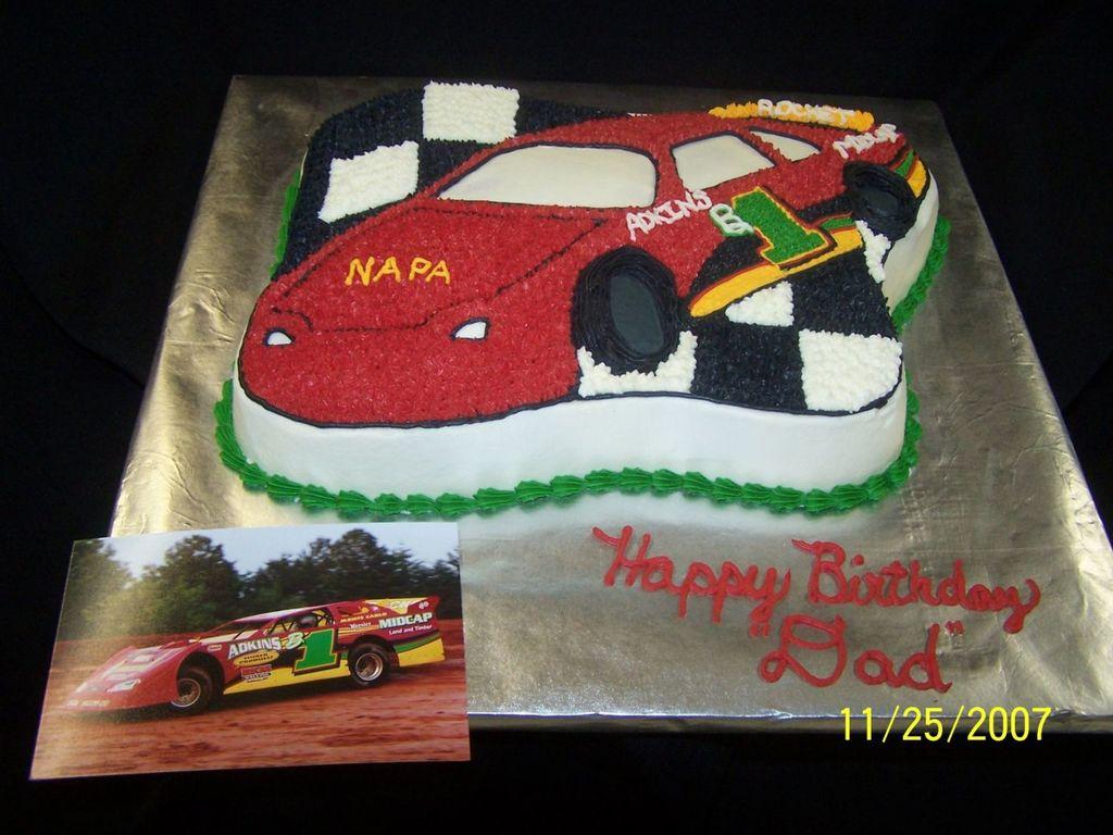 Race car cake cakecentral baditri Choice Image