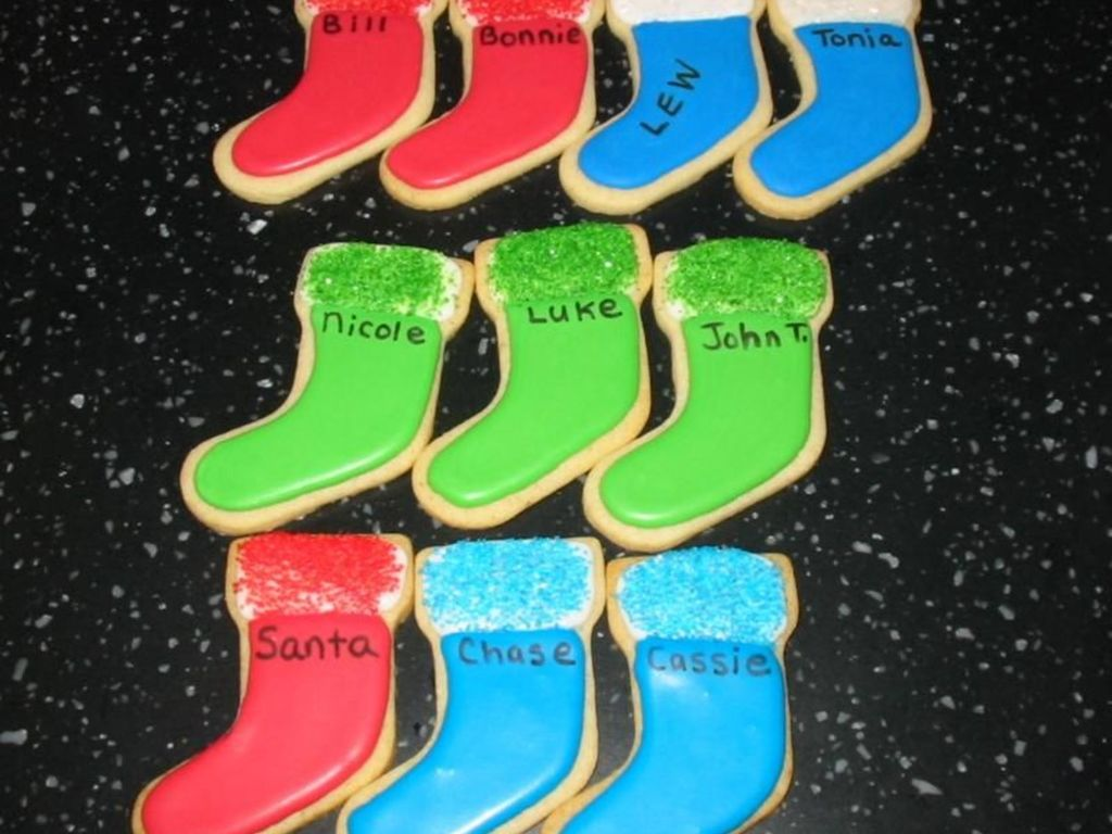 Christmas Stocking Cookies Cakecentral Com