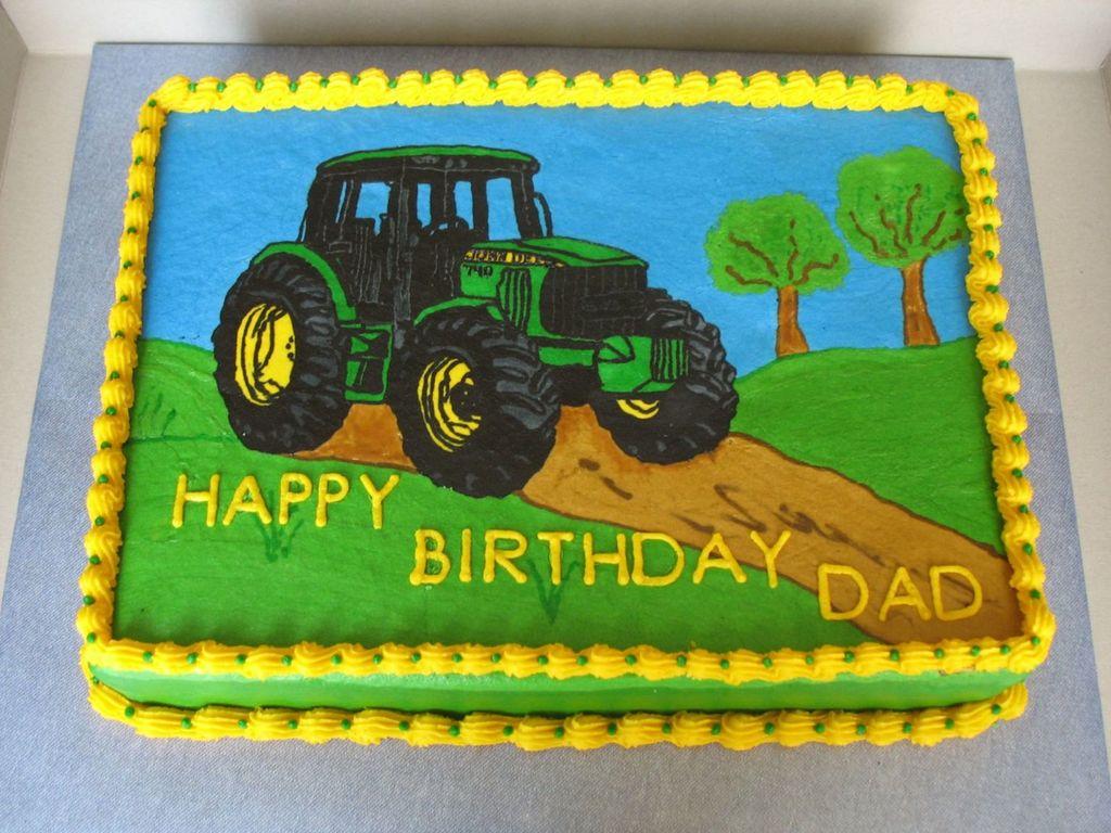 Juhn Deere Tractor CakeCentralcom