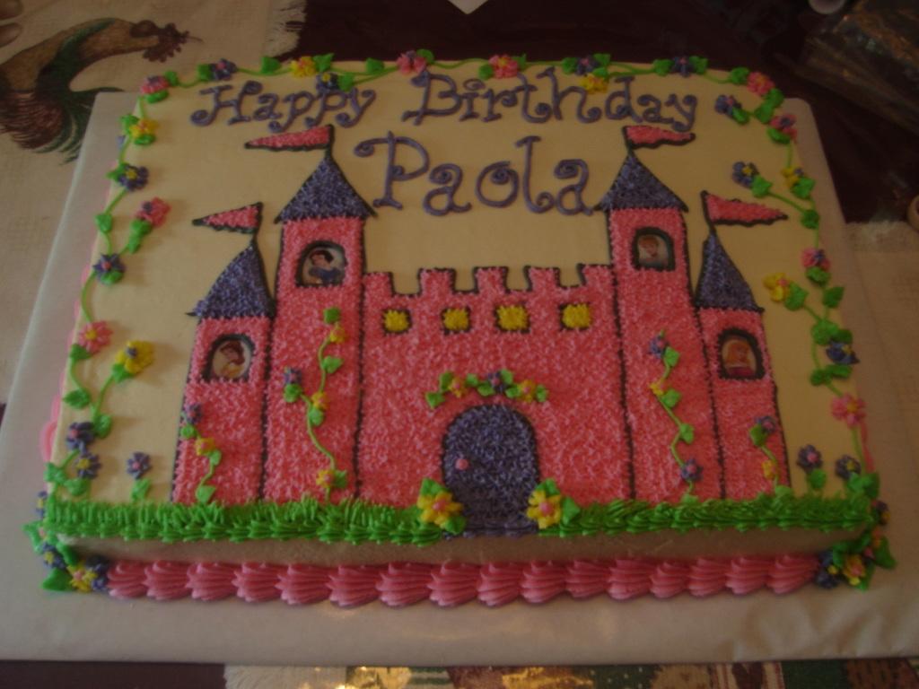castle sheet cake - cakecentral
