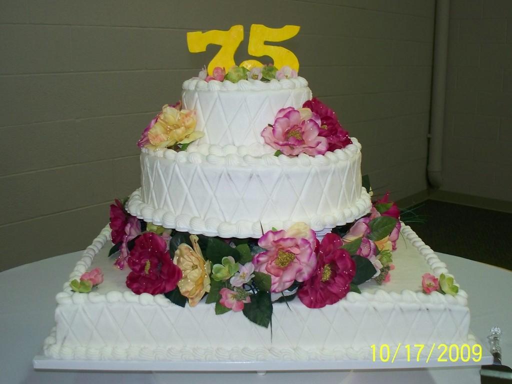 Superb Happy 75Th Birthday Mom Cakecentral Com Funny Birthday Cards Online Inifofree Goldxyz