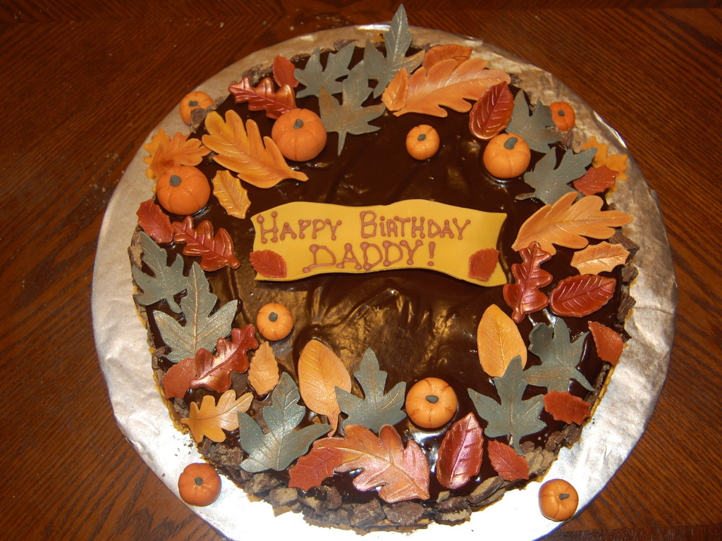 Thanksgiving Birthday Cake Cakecentral