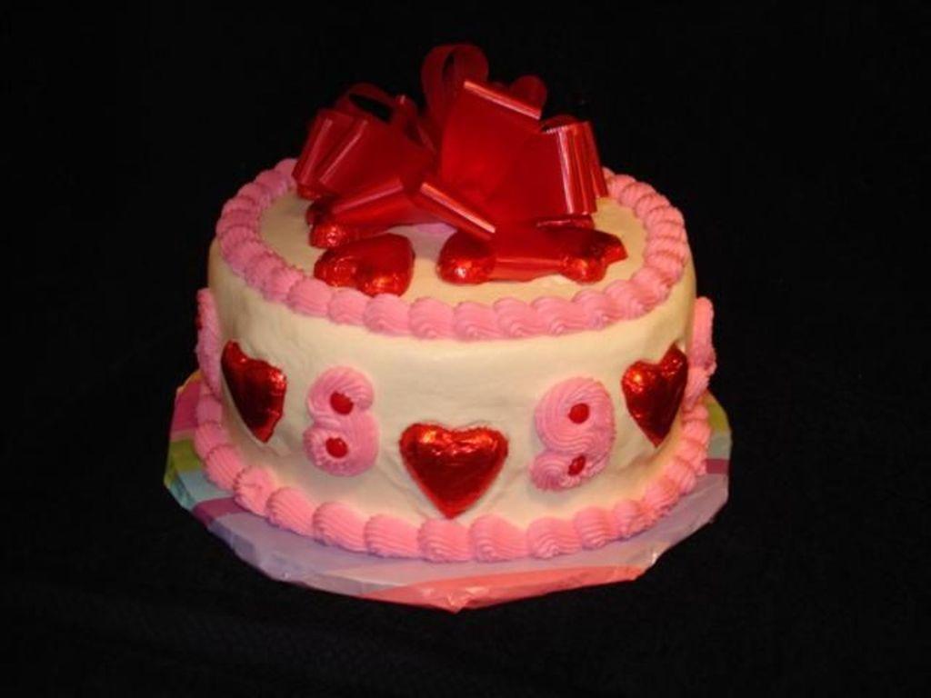 Valentine year wedding anniversary cake cakecentral