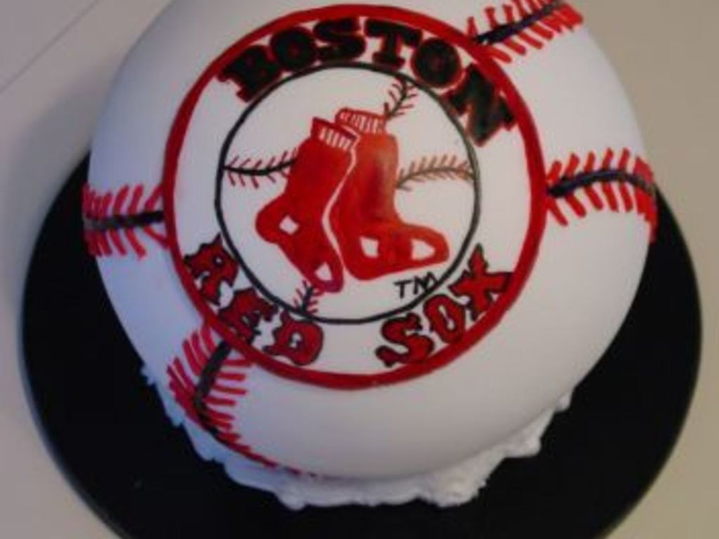Tremendous Boston Red Sox Birthday Cake Cakecentral Com Birthday Cards Printable Nowaargucafe Filternl