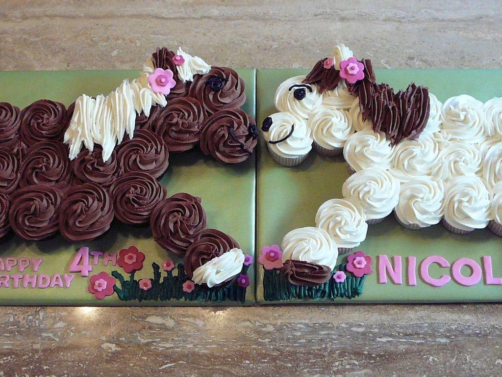 Horse Cupcake Cake CakeCentralcom