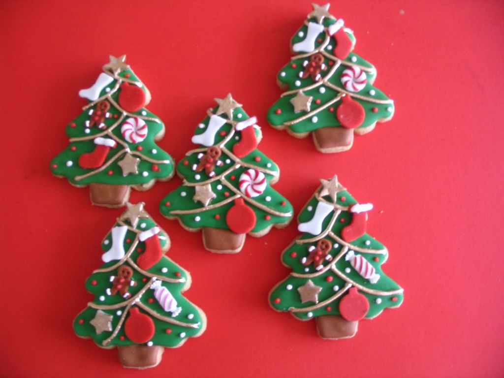 christmas tree cookies cakecentralcom