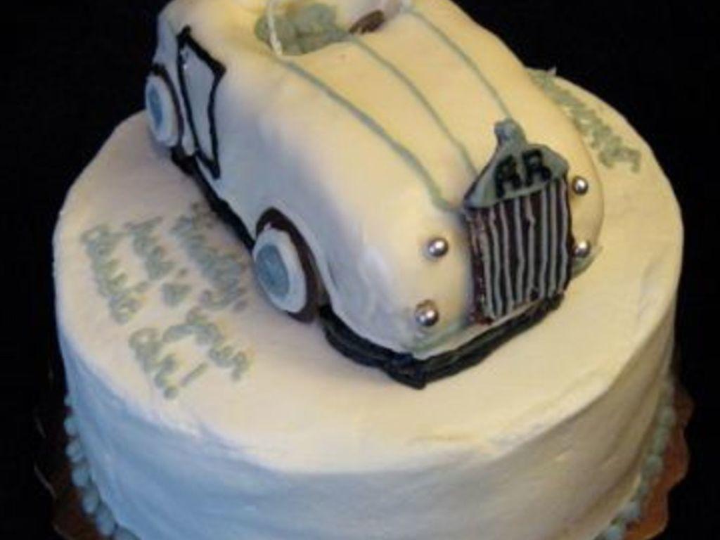 Vintage Rolls Royce Convertible Cakecentral Com