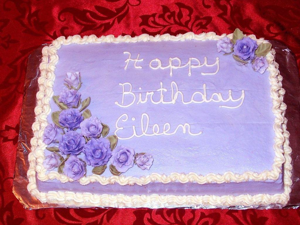 Fine 1 4 Sheet Birthday Cake Cakecentral Com Funny Birthday Cards Online Elaedamsfinfo