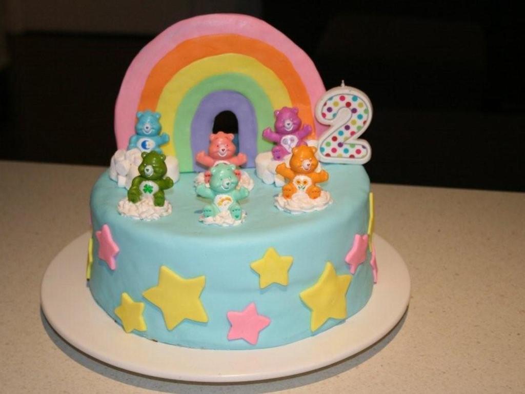 Enjoyable Carebears Birthday Cake Cakecentral Com Birthday Cards Printable Benkemecafe Filternl