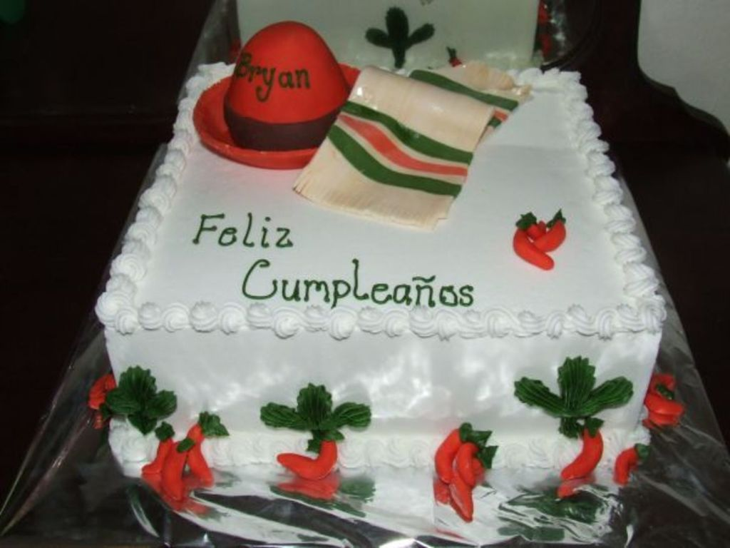 Miraculous Mexican Birthday Cake Cakecentral Com Personalised Birthday Cards Veneteletsinfo