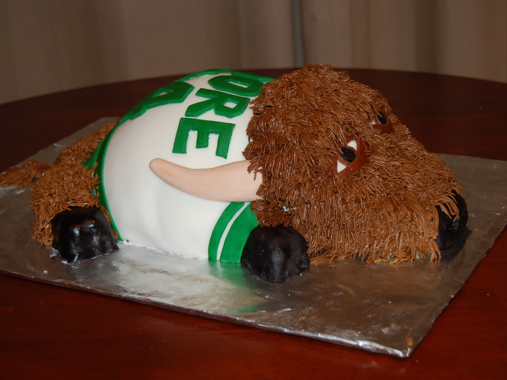 Marshall University Buffalo Birthday Cake CakeCentralcom - Buffalo birthday cake