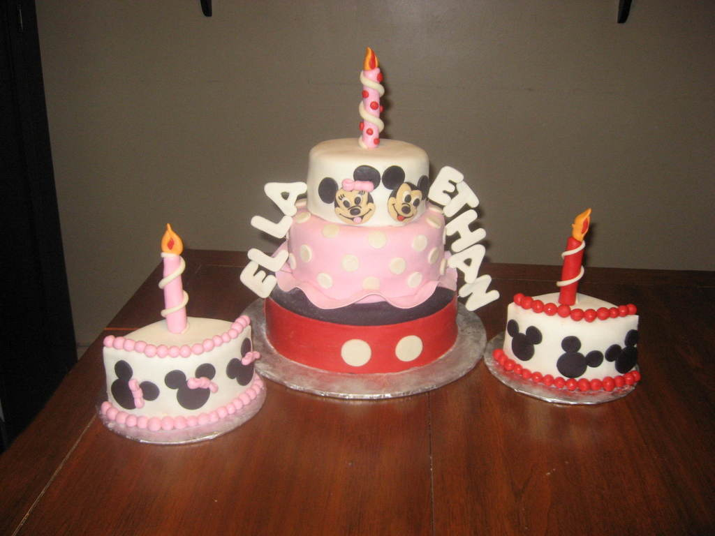 1st birthday cake for twins boy and girl cakecentral com on cake birthday boy girl