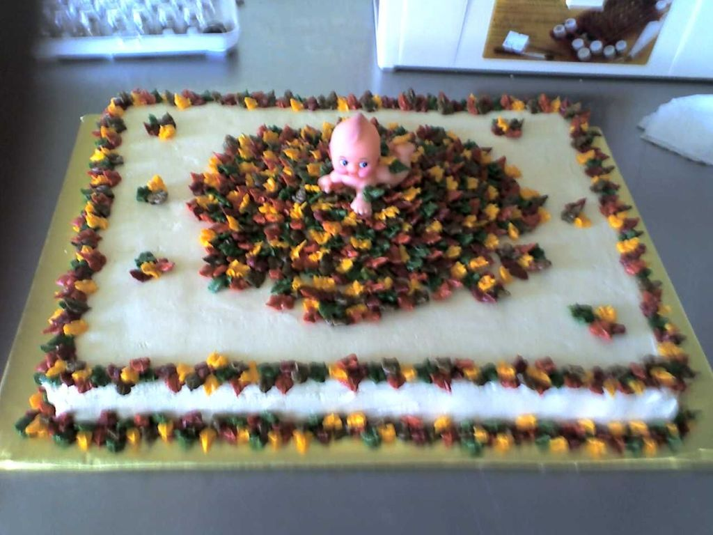 Fall Themed Baby Shower Cake Cakecentral