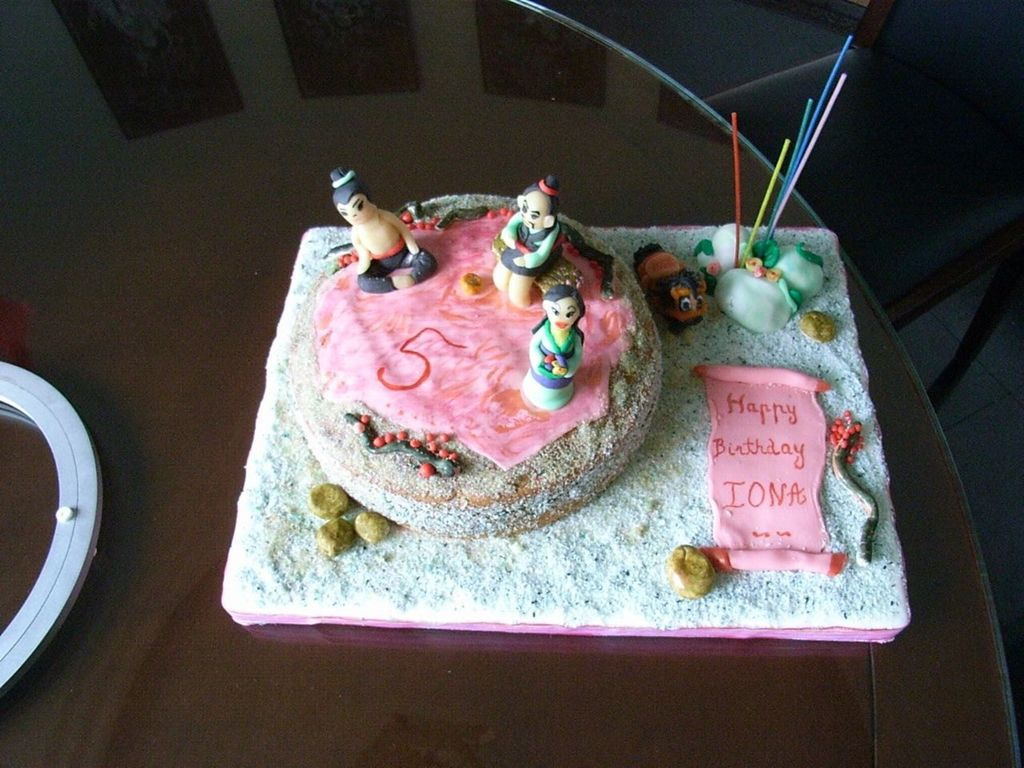 Stupendous Mulan Birthday Cake Cakecentral Com Funny Birthday Cards Online Bapapcheapnameinfo