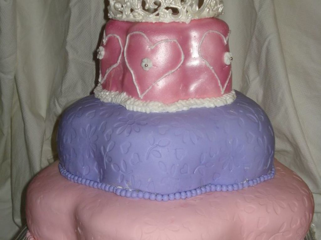 Princess Cake For 3 Year Old