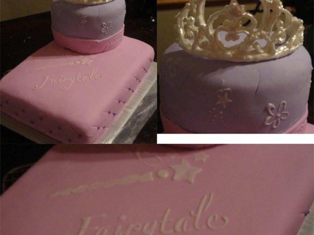 Tiara Princess Cake For 3 Year Old