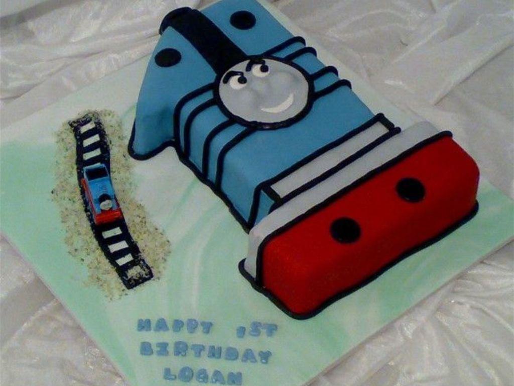 Thomas The Tank Engine No 1 Birthday Cake Cakecentral