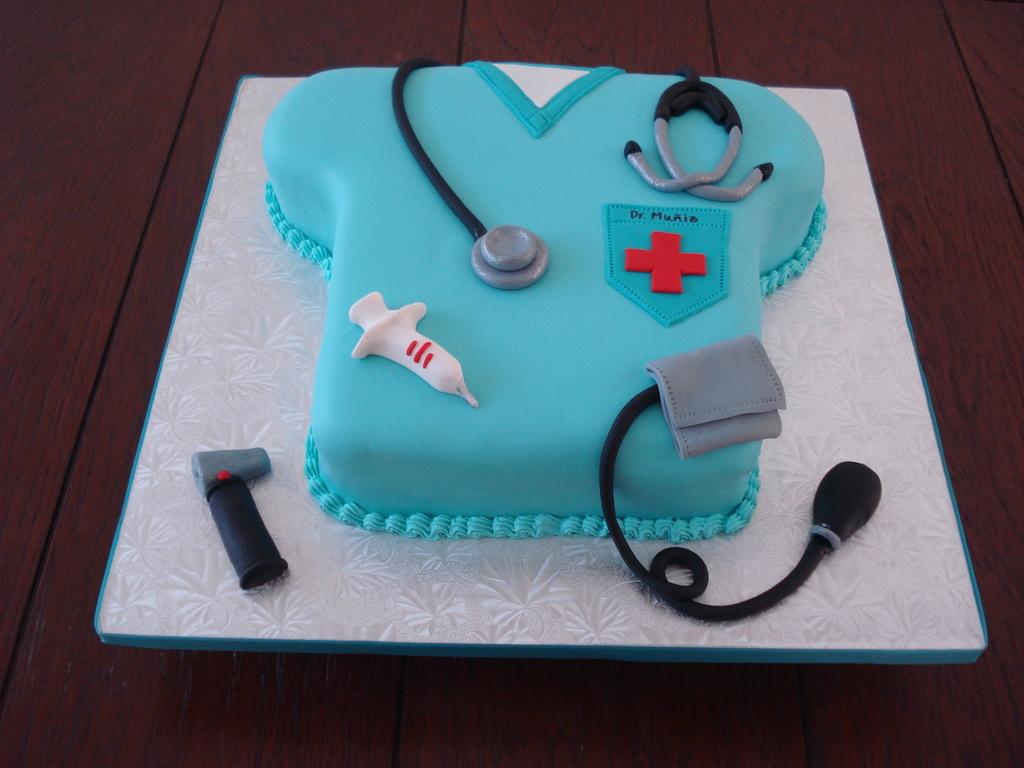 Doctor Scrub Cake CakeCentralcom