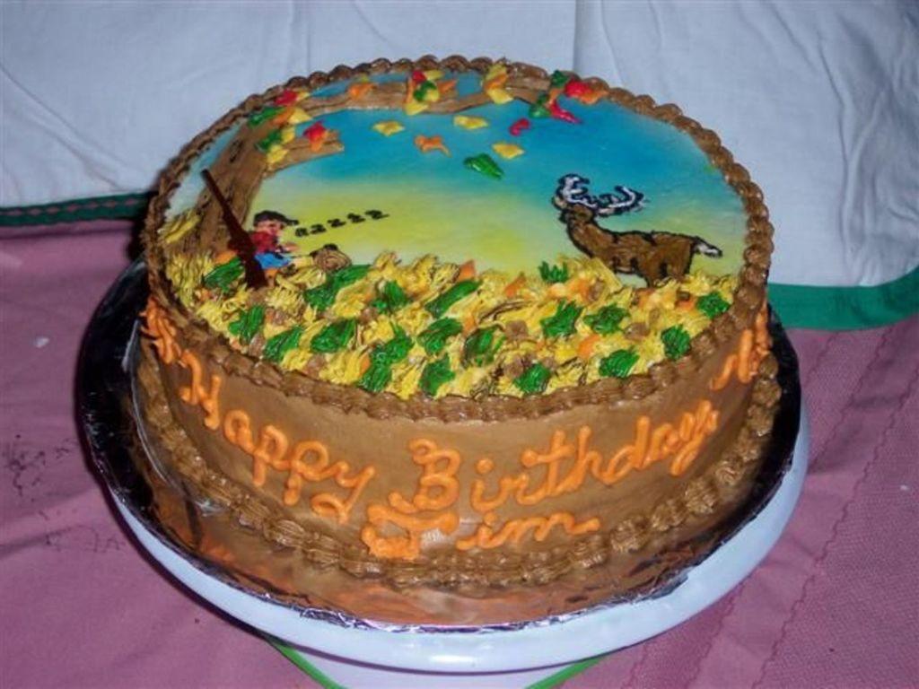 100 Hunting Birthday Cake Ideas The 25 Best Male Birthday