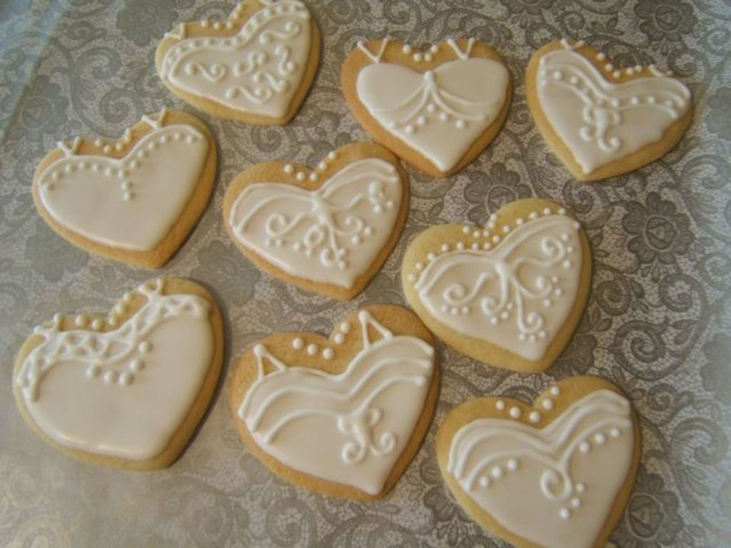 bridal shower cookies cakecentralcom