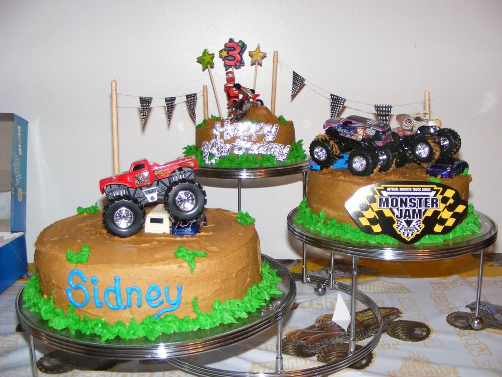 Excellent Monster Jam Birthday Cakecentral Com Funny Birthday Cards Online Elaedamsfinfo