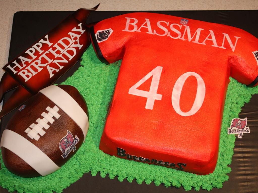 Tampa Bay Bucs Birthday - CakeCentral.com