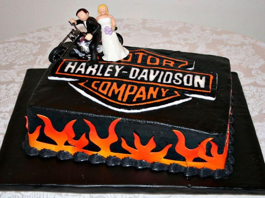 Harley Davidson Cake Decorations Harley Davidson Grooms Cake Cakecentralcom