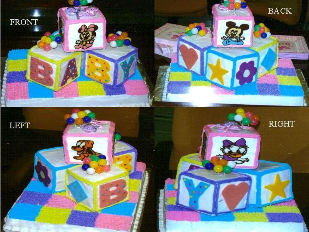 Disney Babies Baby Shower Cake Cakecentral