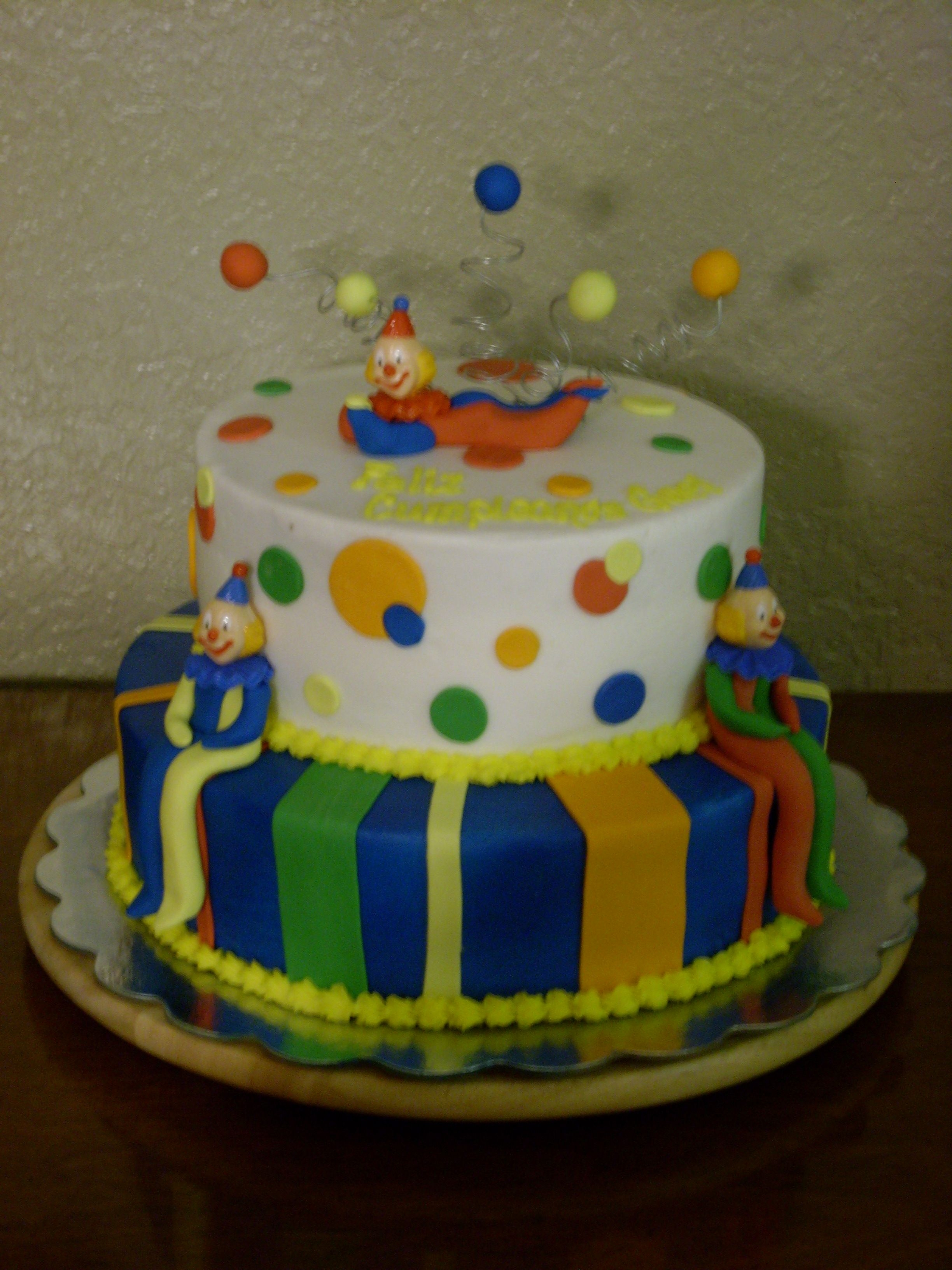 Clown Birthday Cake Cakecentral