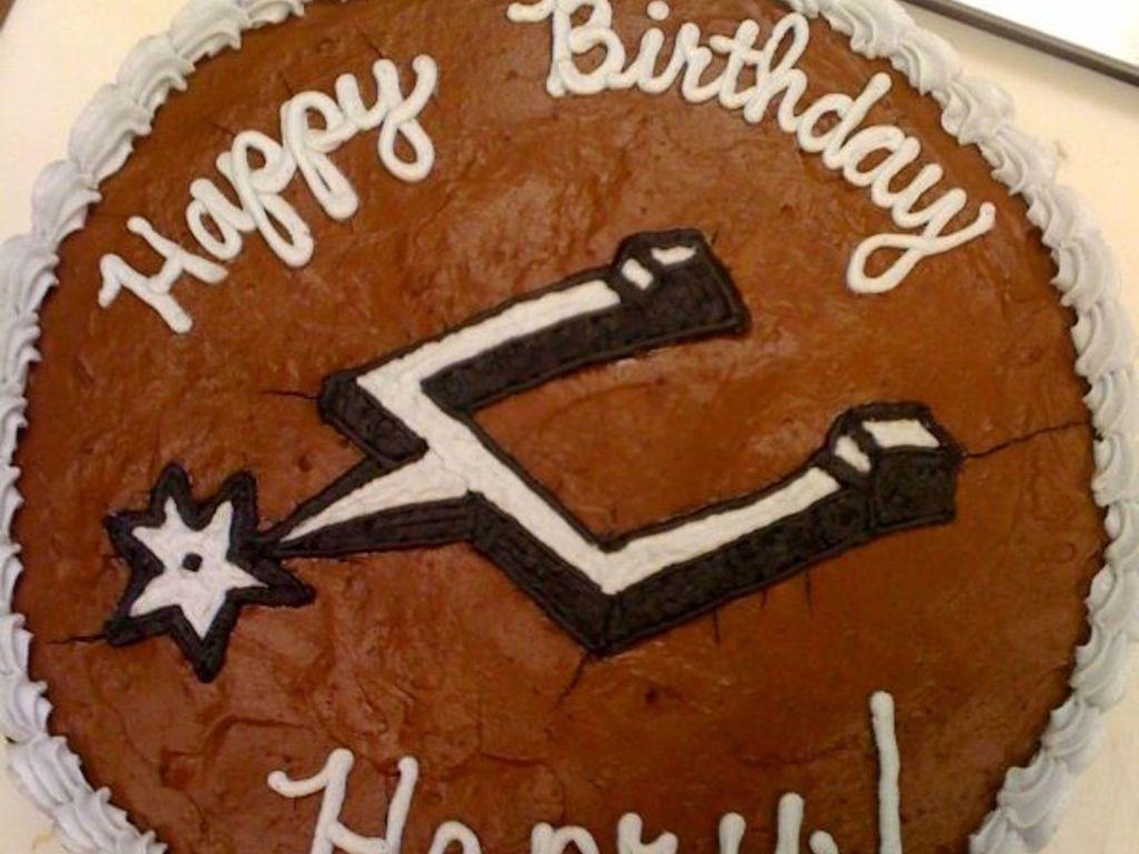 Brilliant Sanantonio Spurs Birthday Cakecentral Com Personalised Birthday Cards Epsylily Jamesorg