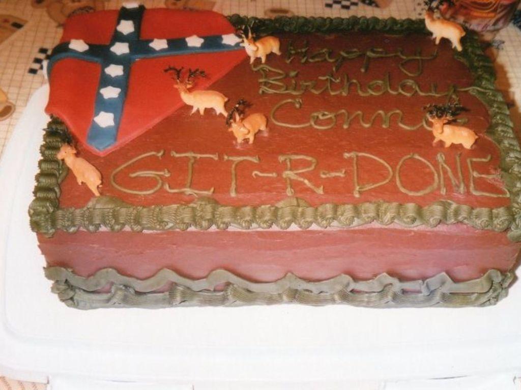 Swell Redneck Birthday Cake Cakecentral Com Funny Birthday Cards Online Alyptdamsfinfo