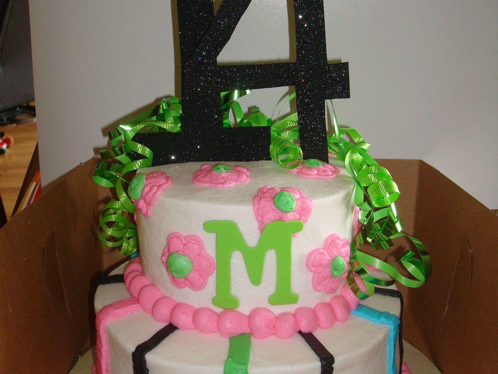 14 Year Old Birthday Cake