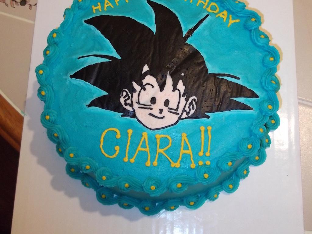Dragon Ball Z Cake CakeCentralcom