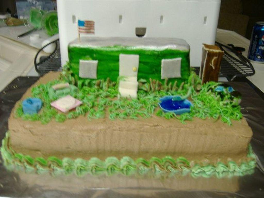 Terrific Redneck Birthday Cake Cakecentral Com Funny Birthday Cards Online Alyptdamsfinfo